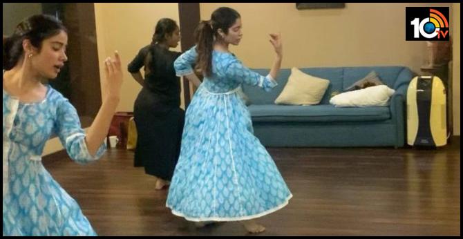 Janhvi Kapoor Displays Her Dancing Skills - Video Viral