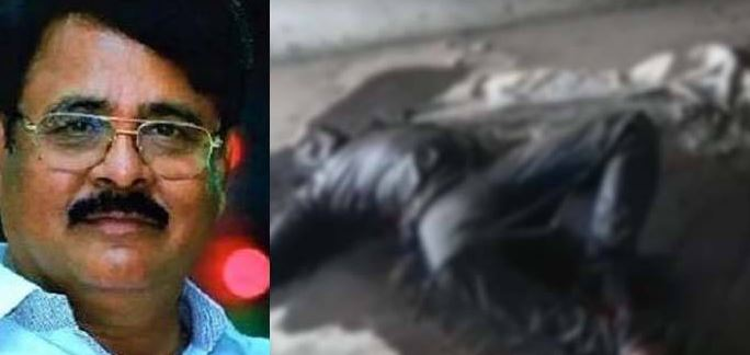 dead body found in maruthi rao shed