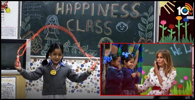 What is Delhi's 'happiness class', and how is it implemented?