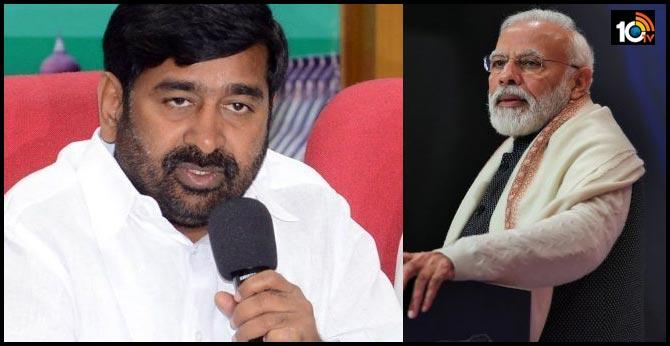 pm Narendramodi fears about Telangana cm kcr schemes : minister jagadeesh reddy