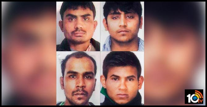 Death sentence for Nirbhaya convicts : Center govt petition in the Supreme Court to challenging the Delhi High Court verdict