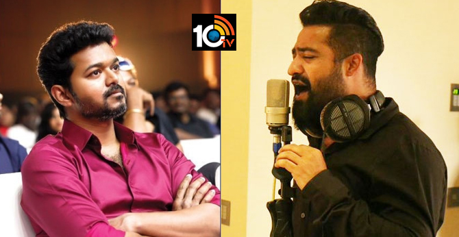 NTR is Going to sing a song in Thalapathy Vijay's MASTER Telugu Version