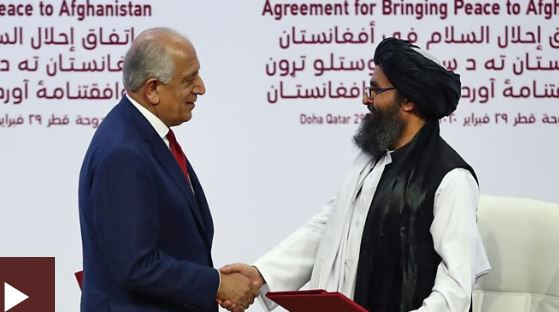 Afghan conflict: US and Taliban sign deal to end 18-year war