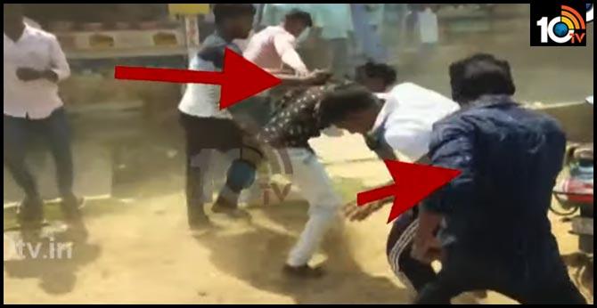 students Mutual attack in srikakulam