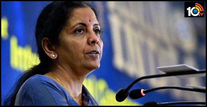 union Finance Minister nirmala Sitaraman