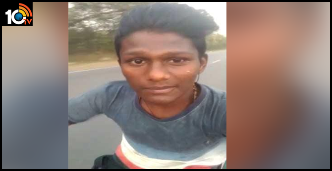 young person died road accident, after posting whats app status