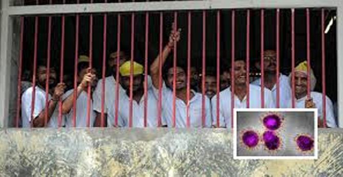 Corona Effect .. 356 prisoners released from Tihar Jail