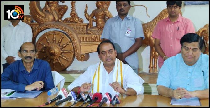 minister indra karan reddy review on ugadi and sriramanavami festival