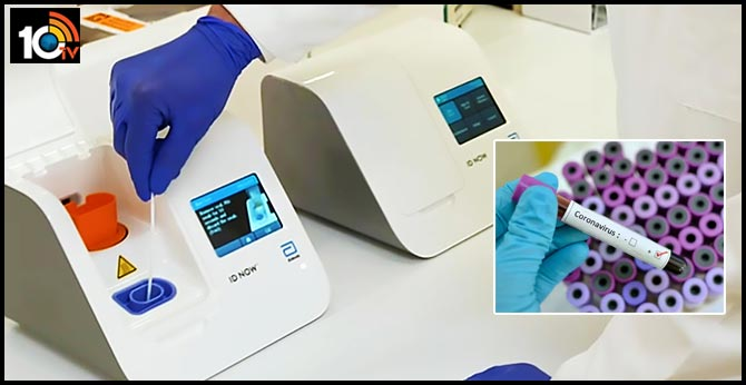 Abbott Launches 5-Minute Covid-19 Test for Use Almost Anywhere