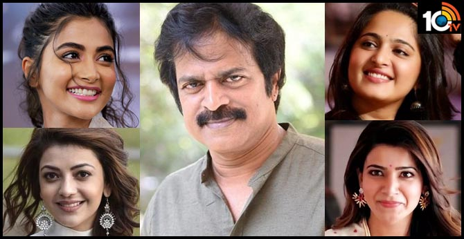 Actor Brahmaji upset with tollywood heroines