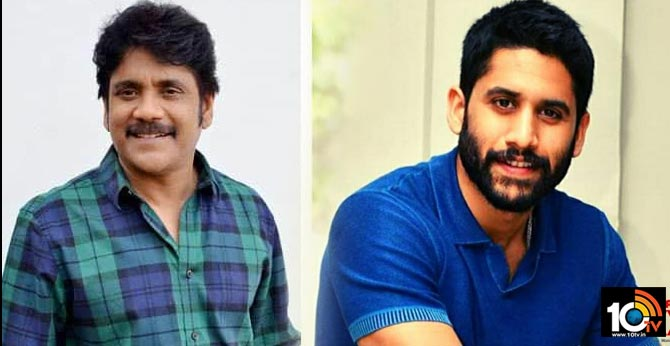 Akkineni Nagarjuna and Naga Chaitanya  Contributes for the well being of film workers