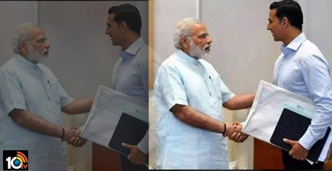 Akshay Kumar has donated 25 crore to PM - CARES Fund