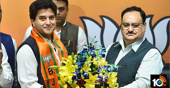 BJP Names Jyotiraditya Scindia For Rajya Sabha Shortly After He Joins Party