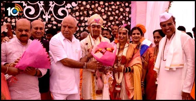 BS Yediyurappa Attends Large-Scale Wedding Despite Coronavirus Advisory