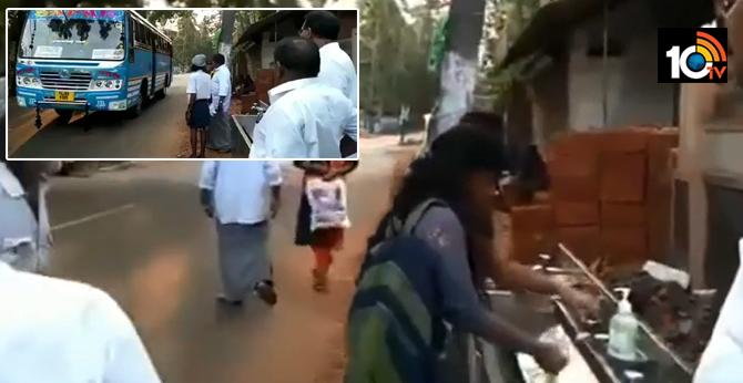 Bus stops get wash basins and liquid soap as Kerala tackles coronavirus smartly