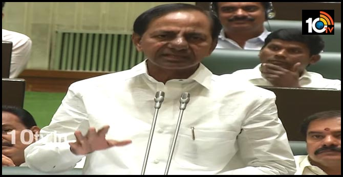 CM KCR warning to Sarpanch and muncipal chairmen