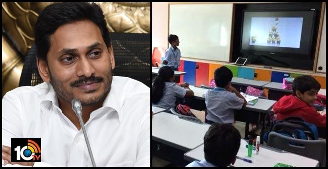 CM YS Jagan Super Decision on AP Govt Schools