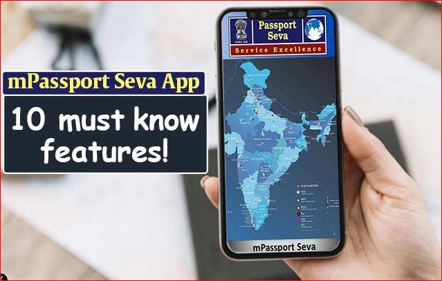 mPassport Seva: From Passport Application, Registration to Status Tracking