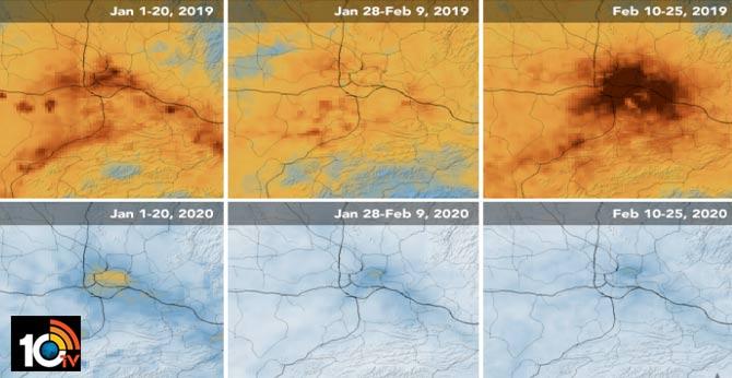 China's Pollution Decreased Due to Coronavirus Effect