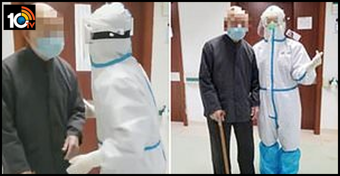 Chinese pensioner aged 101 RECOVERS from coronavirus