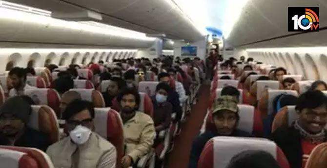 Corona Effect : 234 Indians arrived from Iran to Mumbai