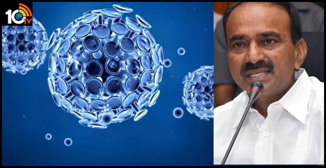 Coronavirus only for those who come from abroad says minister etela rajender