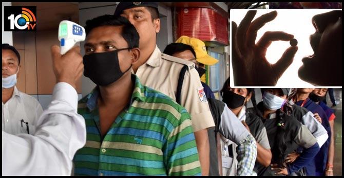 Coronavirus:Hyderabad: Air Passengers Skip Thermal Screening