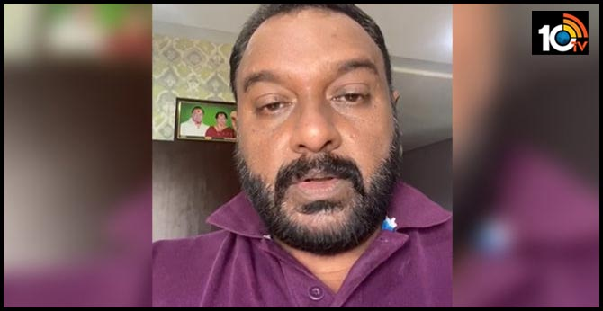 Director V V Vinayak Donated 5 Lakhs to Manam Saitham Charity