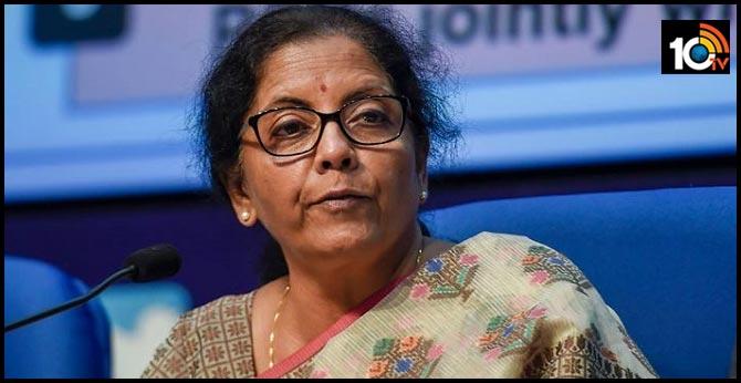 Finance Minister nirmala sitharaman will address media over coronavirus