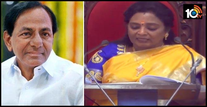Telangana Budget: Governor's Tamilisai Speech