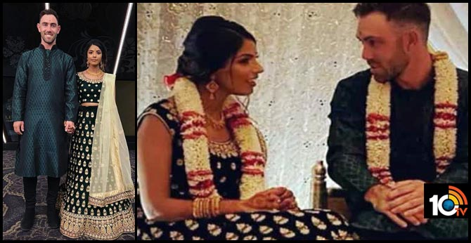 KXIP Star Glenn Maxwell Sports Sherwani In Indian Engagement Ceremony