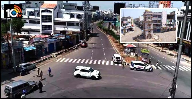 Corona Karimnagar Town Shut Down