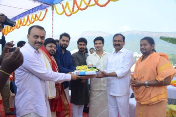 Karthikeya 2 Movie formally launched in Tirumala