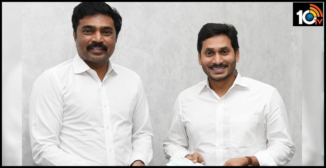 Megha Engineering MD PV Krishna Reddy donates Rs.5 crores to AP CM Relief Fund