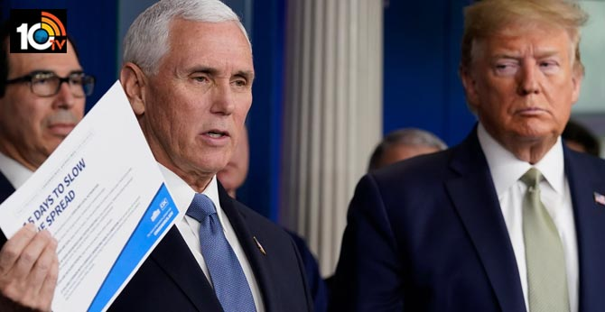 Mike Pence's staffer tests positive for coronavirus, first from White House
