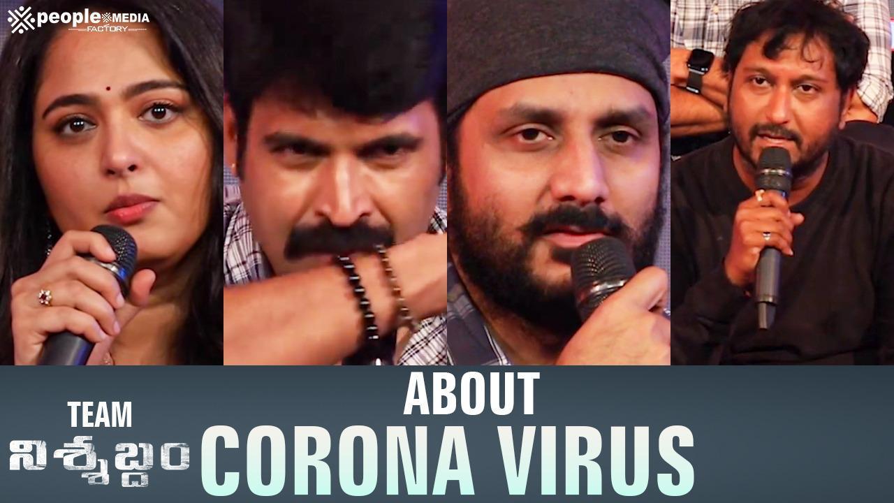 Nishabdham Team About Corona Virus