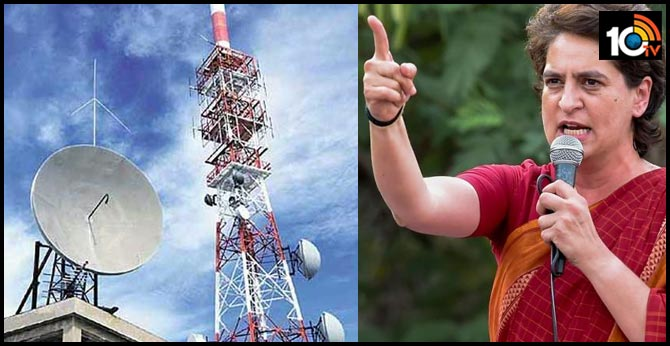 Priyanka Gandhi urges telecom companies to provide free services to migrant labourers