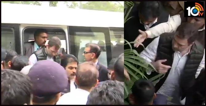 Rahul Gandhi, Congress Leaders Visit Violence-Hit Areas Of Delhi