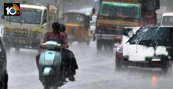 Rain forecast for Telangana