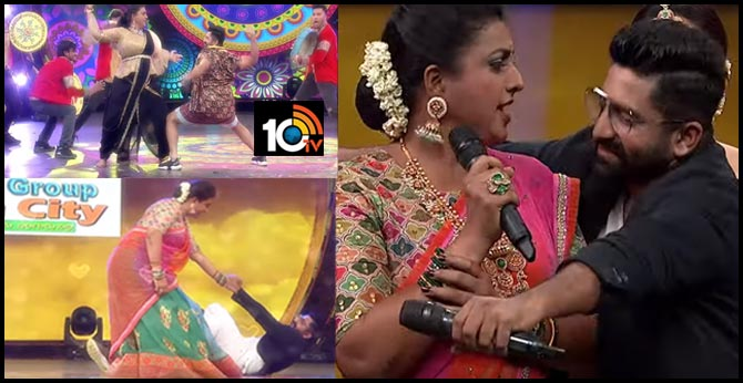 Roja and Sekhar Master Superb Dance in Ugadi Special Event 'Pandaga Sir Pandaga Anthe'