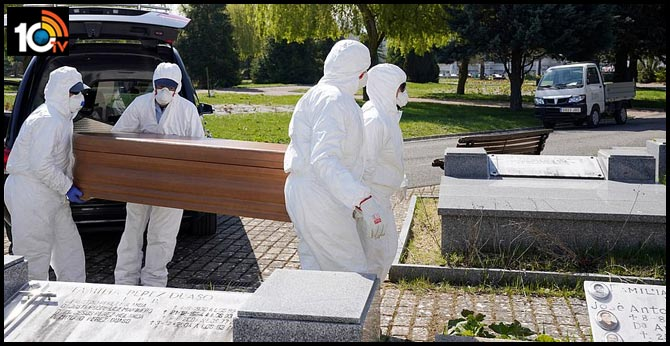 Spain Coronavirus Death Toll Hits 4,858, 769 Fatalities New One-day Record