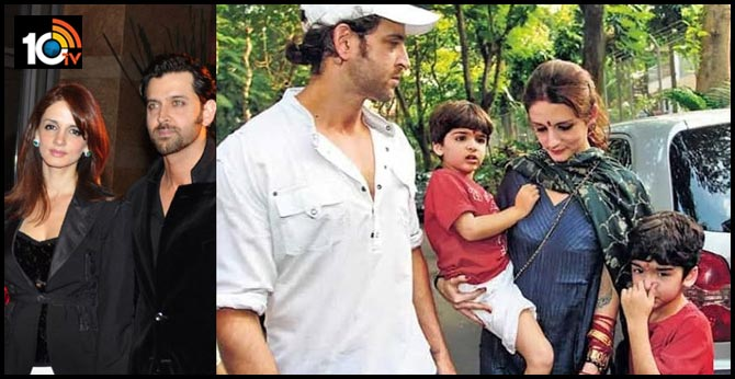 Sussanne Khan moves in with Hrithik Roshan to take care of kids together during quarantine