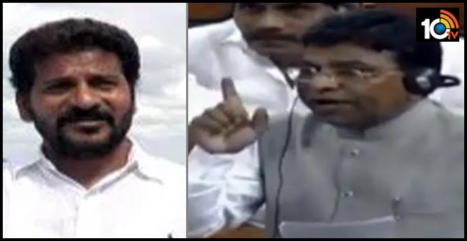TRS MP Nama NageshwaraRao demands strict action against Congress MP Revant Reddy in drone cameras video case on minister KTR farmhouse