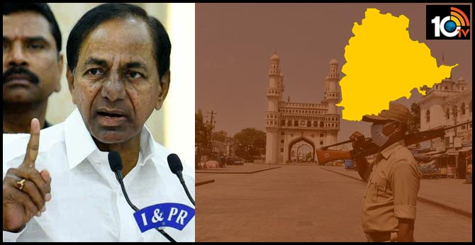 Telangana Lock Down will be continued till April 15, No Hostels will be closed, says KCR