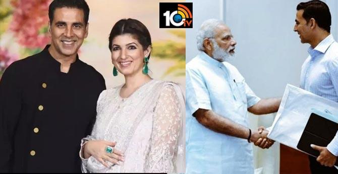 Twinkle Khanna Reaction on Akshay Kumar Donation