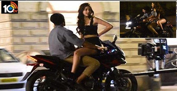 Vijay Devarakonda, Ananya Pandey Spotted on Bike Ride