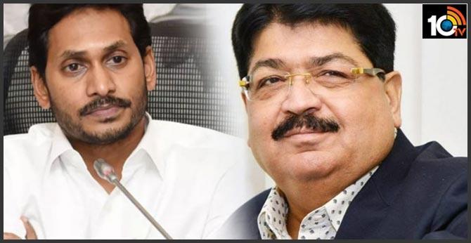 What is the Jagan strategy behind Nathwani Rajya Sabha seat?