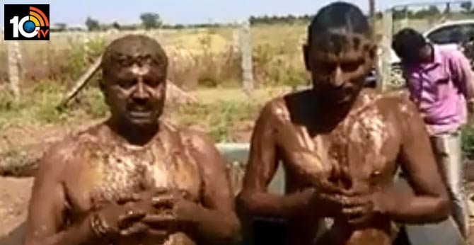 bizarre coronavirus-cure is cow dung bath protect from covid