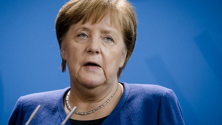 60% to 70% of the German population will be infected by the coronavirus, Merkel says
