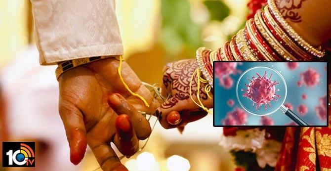 coronavirus found in wedding reception ceremony